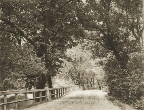 Sommer am Kanal Rau, Otto  (German, 1856-1934)