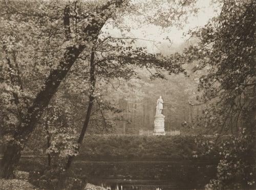 Beim Denkmal Konig Friedrich Wilhelm III Rau, Otto  (German, 1856-1934)
