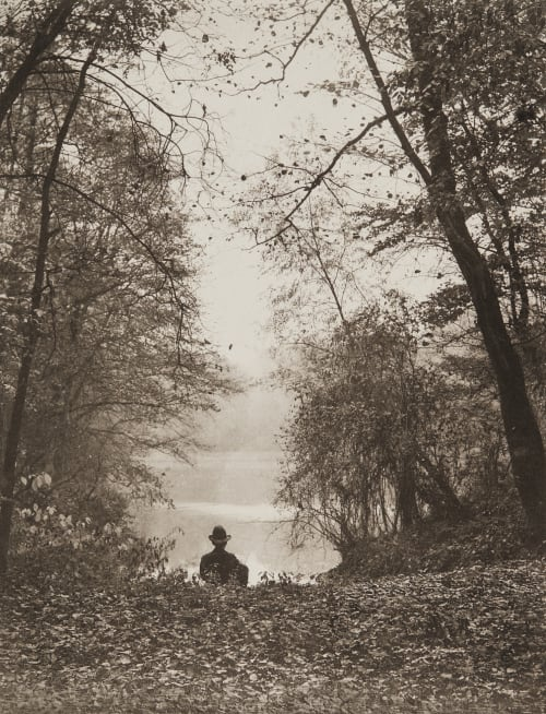 Abend am Neuen See Rau, Otto  (German, 1856-1934)