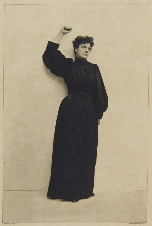 "Miss Ada Rehan in ""The Prayer"" Sarony, Napoleon   (American, 1821-1896)"