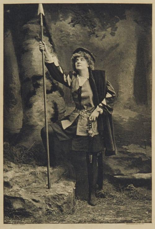 "Miss Ada Rehan as ""Rosalind"" Sarony, Napoleon   (American, 1821-1896)"