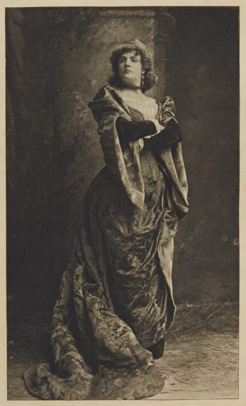 """Miss Rehan in """"Taming of the Shrew"""" Unknown"""