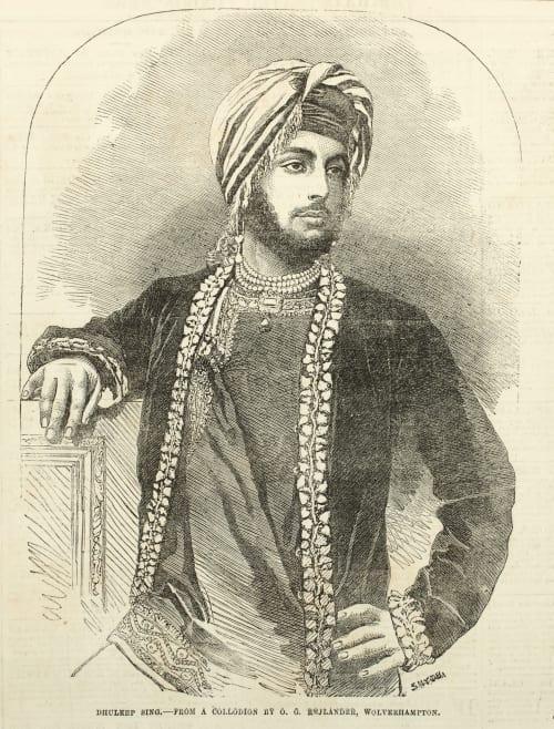 Dhuleep Sing Rejlander, Oscar G.  (British, 1813-1875)