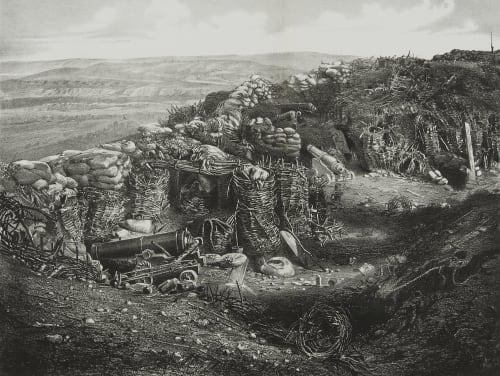 Fig. 62a Interior of the Korniloff Bastion Robertson, James  (British, 1813-1888)