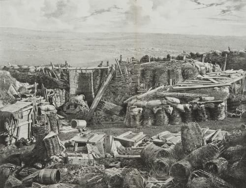 Fig. 58a Interior of the Redan After the Final Assault Robertson, James  (British, 1813-1888)
