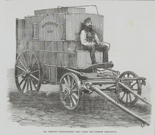 Mr. Fenton's Photographic Van Fenton, Roger  (British, 1819-1869)