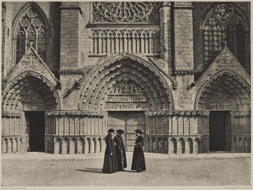 Cathédrale Saint-Pierre (Les Grandes Portes) Robuchon, Jules Cesar  (French, 1840-1922)