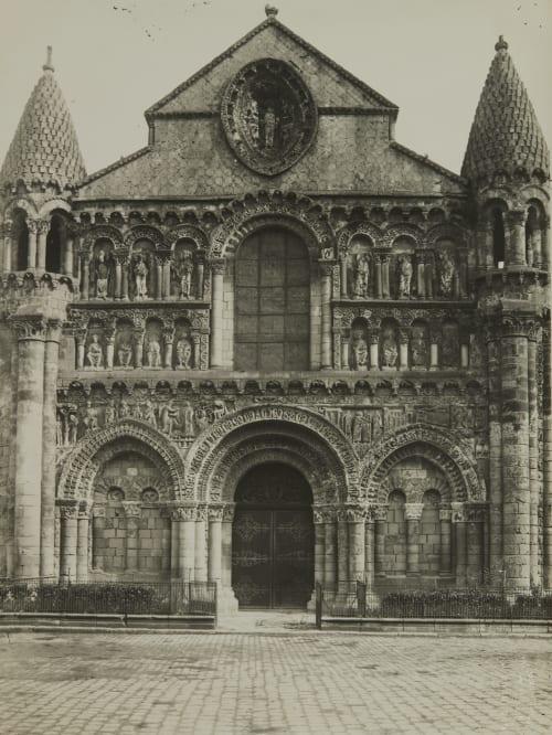 Pointers (Vienne) Église Notre-Dame la Grande Robuchon, Jules Cesar  (French, 1840-1922)