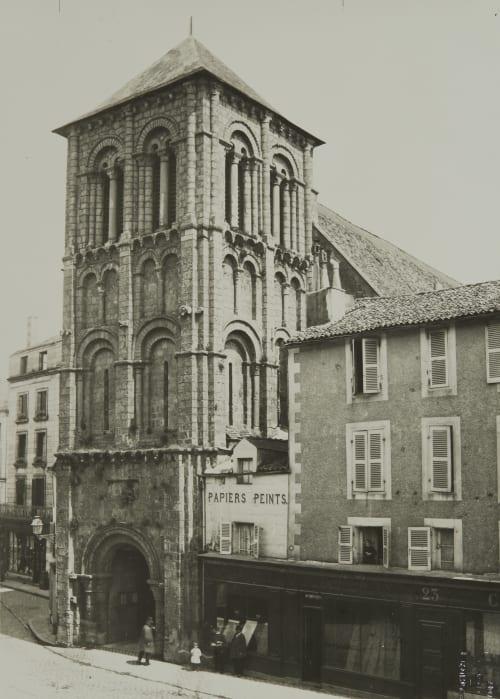 Pointers (Vienne) Église Saint Porchaire Robuchon, Jules Cesar  (French, 1840-1922)