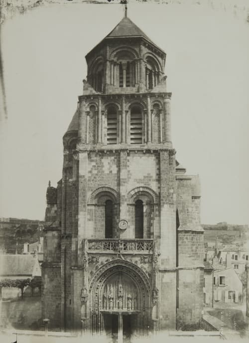 Pointers (Vienne) Église Saint-Radégonde Robuchon, Jules Cesar  (French, 1840-1922)