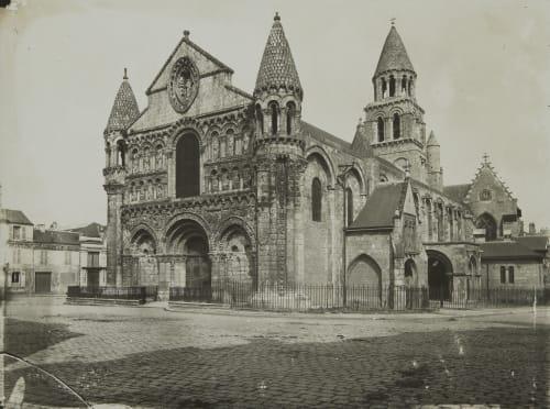 Pointers (Vienne) Église Notre-Dame-la-Grande Robuchon, Jules Cesar  (French, 1840-1922)