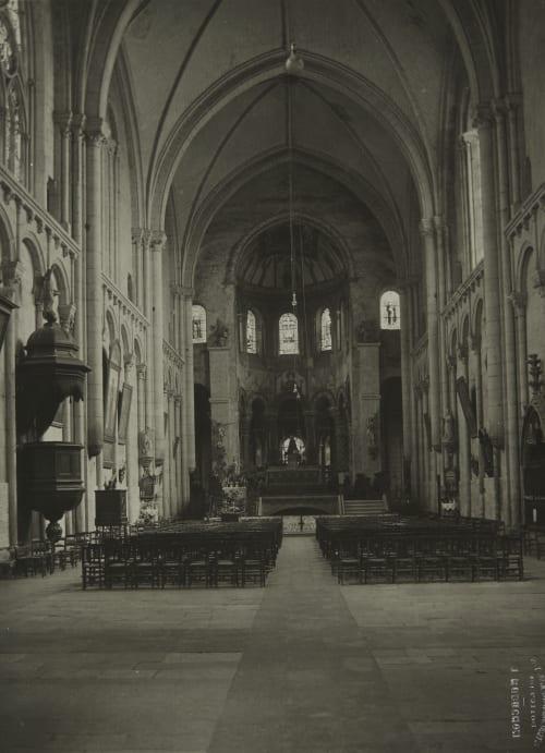 Pointers (Vienne) Église Saint Radegonde Robuchon, Jules Cesar  (French, 1840-1922)