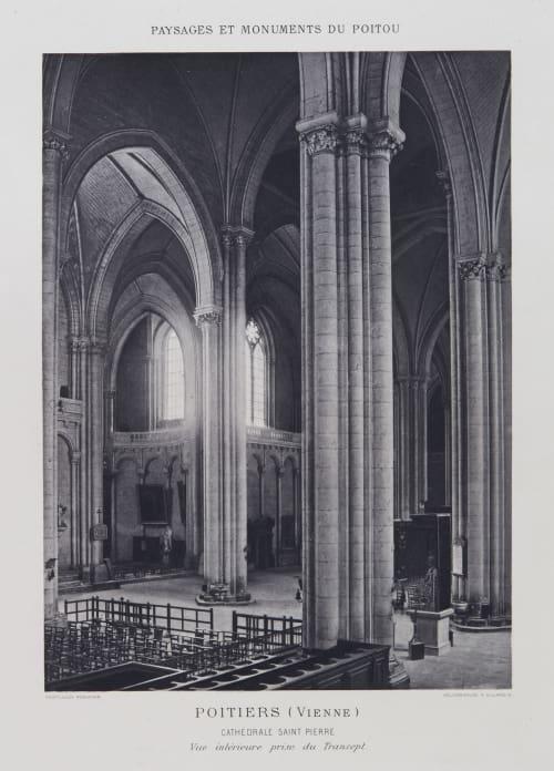 Cathédrale Saint Pierre Robuchon, Jules Cesar  (French, 1840-1922)