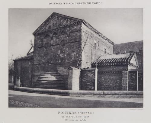 Le Temple Saint-Jean Robuchon, Jules Cesar  (French, 1840-1922)