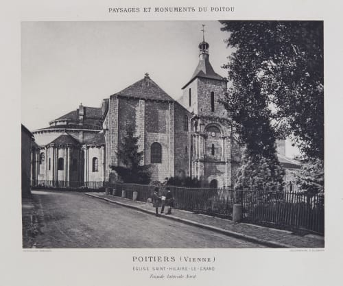 Eglise Saint-Hilaire-Le-Grand (Façade) Robuchon, Jules Cesar  (French, 1840-1922)