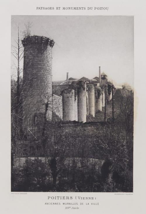 Anciennes Murailles de la Ville Robuchon, Jules Cesar  (French, 1840-1922)
