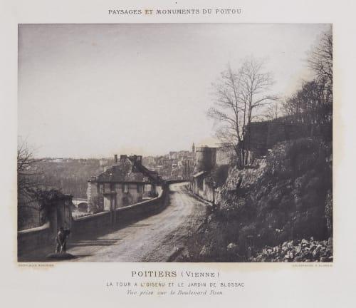 Le Tour a L'oiseau et Le Jardin de Blossac Robuchon, Jules Cesar  (French, 1840-1922)