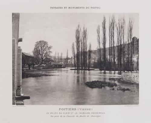 La Vallée du Clain et Le Faubourg Rochereuil Robuchon, Jules Cesar  (French, 1840-1922)