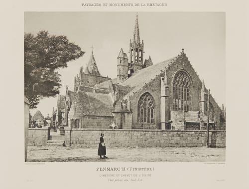 Pl. 30 Penmarc'h (Finistère) Robuchon, Jules Cesar  (French, 1840-1922)