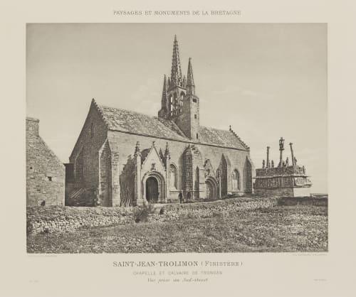Pl. 28 Saint-Jean-Trolimon (Finistère) Robuchon, Jules Cesar  (French, 1840-1922)