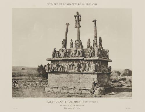 Pl. 29 Saint-Jean-Trolimon (Finistère) Robuchon, Jules Cesar  (French, 1840-1922)