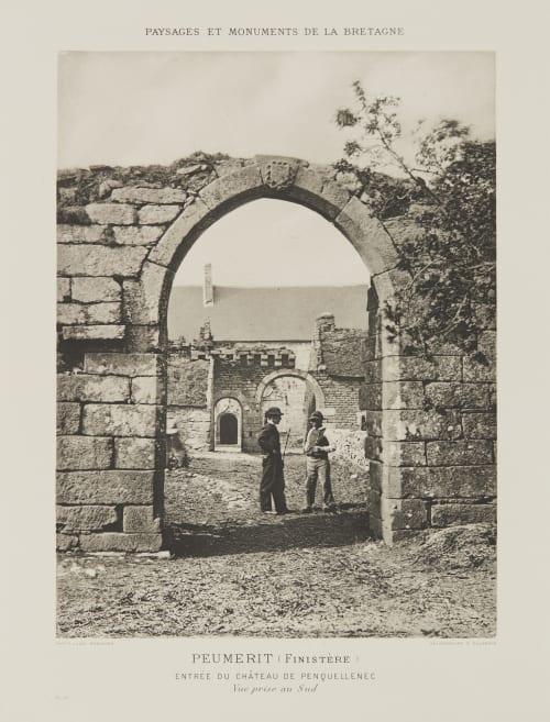 Pl. 47 Peumerit (Finistère) Robuchon, Jules Cesar  (French, 1840-1922)