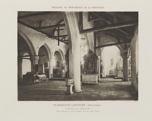 Pl. 46 Plonéour-Lanvern (Finistère) Robuchon, Jules Cesar  (French, 1840-1922)