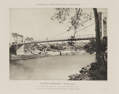 Pl. 15 Plougoumelen (Morbihan) Robuchon, Jules Cesar  (French, 1840-1922)