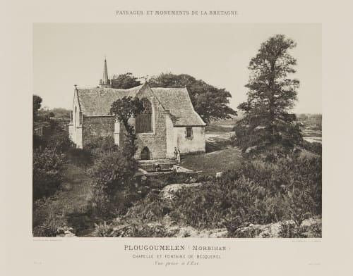 Pl. 16 Plougoumelen (Morbihan) Robuchon, Jules Cesar  (French, 1840-1922)