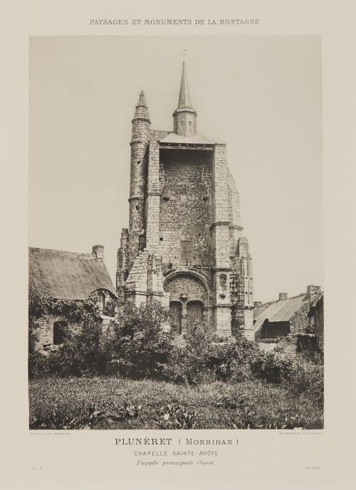 Pl. 9 Plunéret (Morbihan) Robuchon, Jules Cesar  (French, 1840-1922)