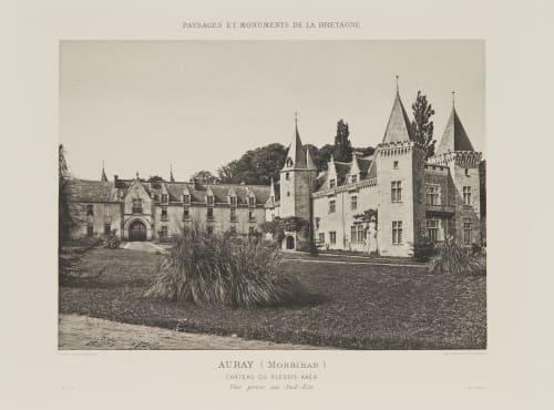 Pl. 17 Auray (Morbihan) Robuchon, Jules Cesar  (French, 1840-1922)