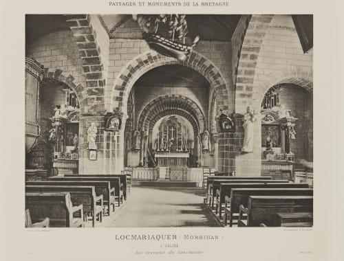 Pl. 13 Locmariaquer (Morbihan) Robuchon, Jules Cesar  (French, 1840-1922)