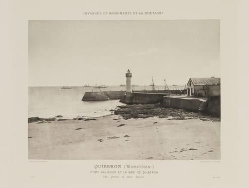 Pl. 20 Quiberon (Morbihan) Robuchon, Jules Cesar  (French, 1840-1922)