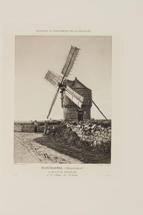 Pl. 21 Plouharnel (Morbihan) Robuchon, Jules Cesar  (French, 1840-1922)