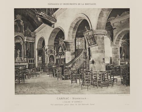 Pl. 23 Carnac (Morbihan) Robuchon, Jules Cesar  (French, 1840-1922)