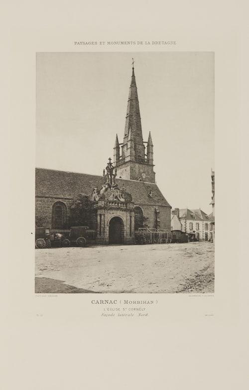 Pl. 22 Carnac (Morbihan) Robuchon, Jules Cesar  (French, 1840-1922)
