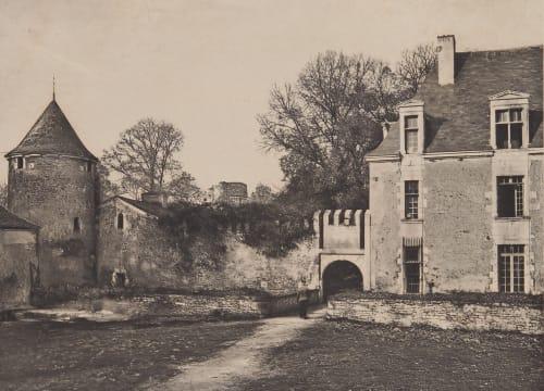 Fontenay – Le Comte (Vendee) Robuchon, Jules Cesar  (French, 1840-1922)
