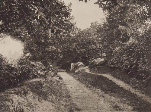 Pouzauges (Vendeé) Robuchon, Jules Cesar  (French, 1840-1922)