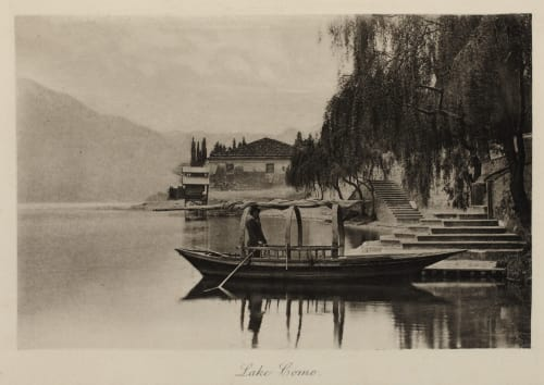 Lake Como Roome, H.A.  (British, 1857-1935)