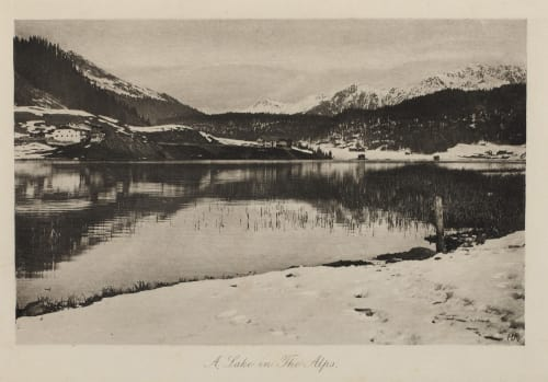 A Lake in the Alps Roome, H.A.  (British, 1857-1935)