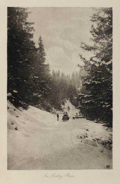 In Sertig Pass Roome, H.A.  (British, 1857-1935)
