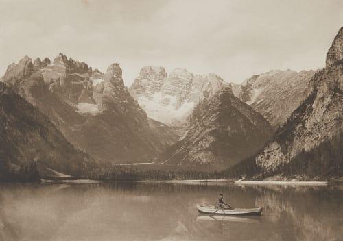 Monte Cristallo (Tirol). Rothschild, Nathaniel Mayer von  (Vienna, 1836-1905)