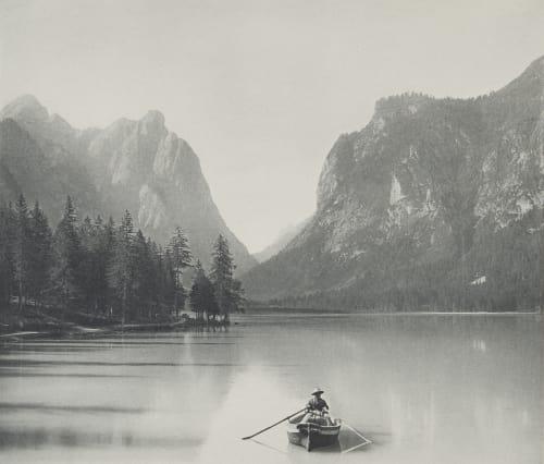 Toblacher See (Tirol). Rothschild, Nathaniel Mayer von  (Vienna, 1836-1905)