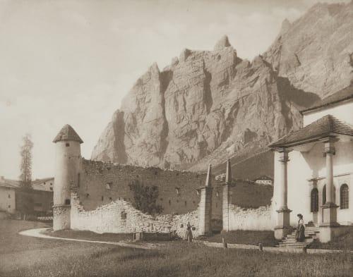 Ruine de Zanna Bei Cortina. Rothschild, Nathaniel Mayer von  (Vienna, 1836-1905)