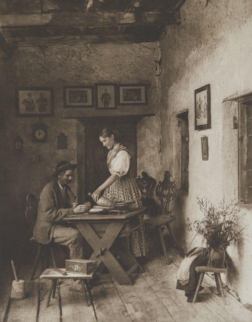 Casa Alverà Bei Cortina. Rothschild, Nathaniel Mayer von  (Vienna, 1836-1905)