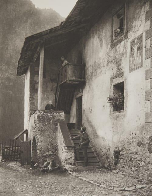 Casa Bernard in Campitello (Tirol). Rothschild, Nathaniel Mayer von  (Vienna, 1836-1905)