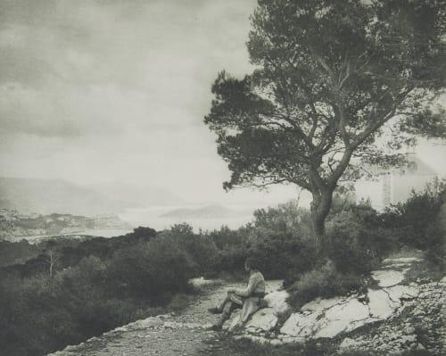 Blick Auf Lacroma. Rothschild, Nathaniel Mayer von  (Vienna, 1836-1905)