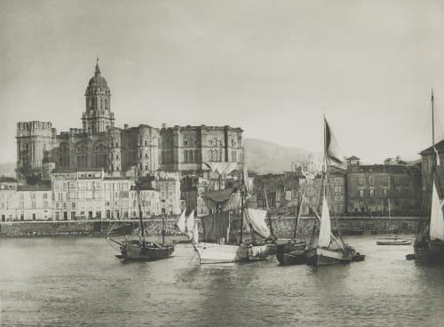 Hafen von Malaga. Rothschild, Nathaniel Mayer von  (Vienna, 1836-1905)