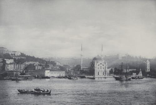 Moschee Yeni Valideh in Constantinopel. Rothschild, Nathaniel Mayer von  (Vienna, 1836-1905)