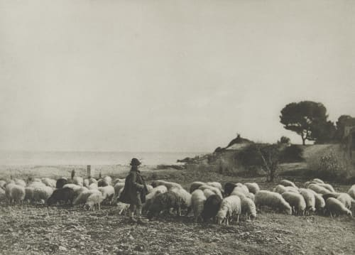 Am Cap Martin (Riviera). Rothschild, Nathaniel Mayer von  (Vienna, 1836-1905)